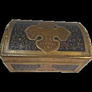 REDUCED Florentine Gold Gilt Wood Trunk Box