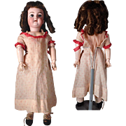 Sweet Heinrich Handwerck 109 with lovely antique dress