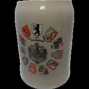 SOLD Gerz Deutschland Beer Stein/Mug