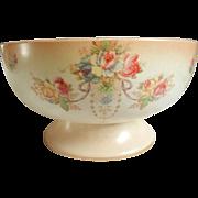 C1914 Crown Devon Pedestal Bowl