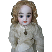SOLD FG in scroll 14 inches all original first communion child Gaultier.