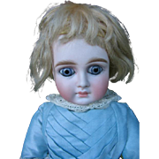 SOLD Sonneberg 183  closed mouth doll with big eyes 20 inches.