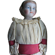 SOLD Parian type doll all original 8 1/2 inches.