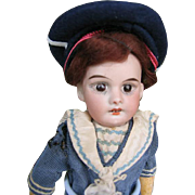 French little doll 10 inches or 25 cm   12/0  All original.