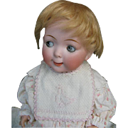 Hertel & Schwab & Co  googly doll 12 inches or 30 cm. 5 piece toddler.