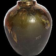 Legras Cameo Art Glass Vase 1910s