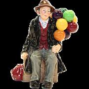 The Balloon Man HN1954 Royal Doulton Large Bone Figurine - mint condition - Toby Jug ...