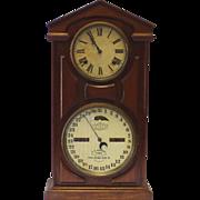 Ithaca No 7 Shelf Calendar Clock built 1877 - exceptional condition