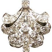Stunning Art Deco Diamond Ring1920s-1940s Platinum 950/1000 Pure 1.5 cttw G-H ...