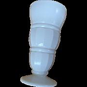 SALE Set of 4 Vintage Milk Glass Ice Cream Sundae, Shake, or Parfait Glasses