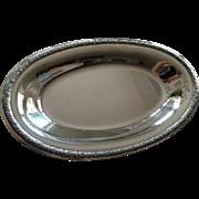 International Sterling Silver Bread Tray