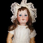 27'' Antique RARE Simon & Halbig #1289 Character Doll, Good Body, Good Clothing