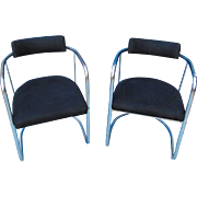 REDUCED Pair of Modern American Armchairs