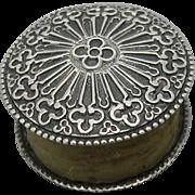 SOLD An English silver thread waxer. c 1830