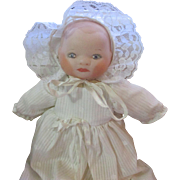 Vintage 1973 Bye-Lo porcelain baby