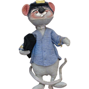Collectable Annalee mailman mouse doll