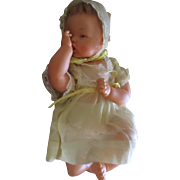 """Vintage Thumbelina Ideal head moves 20"""" 1961 Doll in box"""