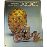 Master pieces from the house of Faberge 1989 Like new Book