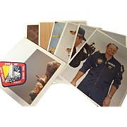 Collectable photographs of Jack Lousma  astronauts , space shuttles,