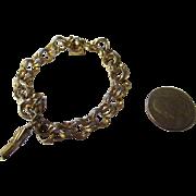 Vintage 1970's Carl Art 12k gold filled Charm bracelet