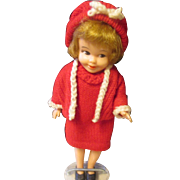 Vintage Deluxe Reading Penny Doll