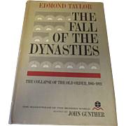 Hard Back The fall of the Dynasties 1963