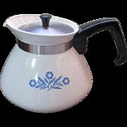 Collectable Corning Ware 6 cup tea pot