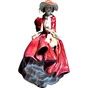 "REDUCED Royal Doulton ""Rare"" Lady Figurine, Top o' the Hill HN4778 Harradine Classic"