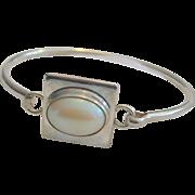 Vintage Signed Sterling Silver Bracelet