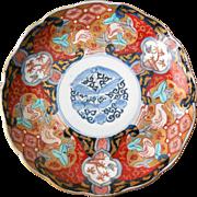 Antique Imari Plate, Fuki Chosan, Meiji (A)