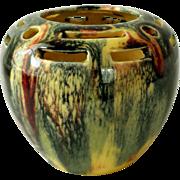 "Mid-Century Art Pottery, Flower Pot, Vase, by ""Verna"""