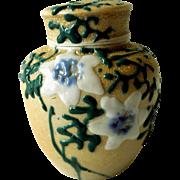 Meiji Period Banko Porcelain Tea Caddy