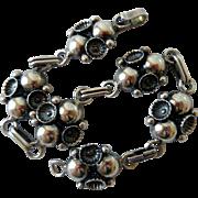 Vintage Sterling Silver Bracelet, Carl Ove Freydensburg, Denmark