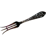 Sterling Silver Lemon Fork, Frank M. Whiting, Early 20th Century