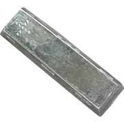 SALE PENDING Vietnam 5 Teal Silver Bar Sycee Opium Trade Bullion Big Heavy Silver Bar ...