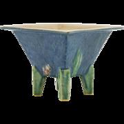 "Roseville Futura Very Rare Art Deco ""Hibachi"" 4"" x 5.25"" Vase 198-5"