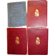 Bundled Lot of Four Miniature Shakespeare Books