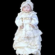 SOLD a Gorgeous Heirloom Franklin porcelain doll.