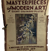 1927 Masterpieces of Modern Art London