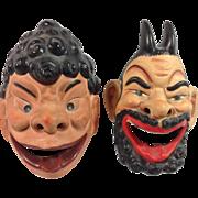 Vintage Japan Character Ashtrays