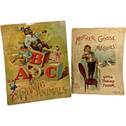 SOLD 2 Early Children's Books by McLoughlin Bros
