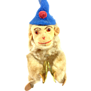 German Wind Up Monkey With Cymbals