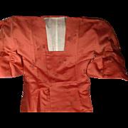 Michiyuki (Square Necked) Silk Kimono