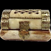 Bone & Brass Trinket Box