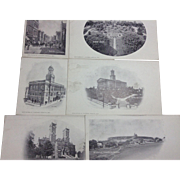 6 Early 1900s Nashville Postcards