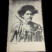 Early 1900s Ethnic Postcard