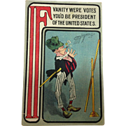 Carmichael Political Postcard