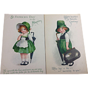 Pair St. Patrick's Kids with Umbrellas