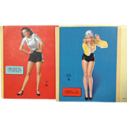 Earl Moran Mutoscope Cards