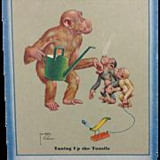 1935 Lawson Wood Advertising Card